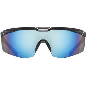 UVEX Sportstyle 117 Sportglasses black matt white/mirror sil